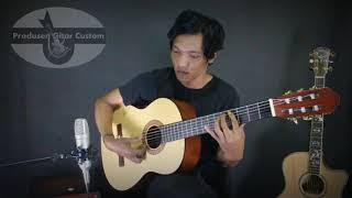 Gitar Yamaha Klasik C315 Custom Nilon AKUSTIK ELEKTRIK