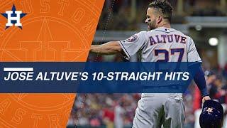 Jose Altuve sets Astros