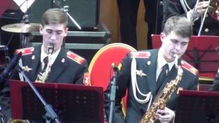 Концерт биг-бенда суворовцев Московского военно-музыкального училища.