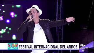 CHOLO VALDERRAMA EN EL REINADO Y FESTIVAL DEL ARROZ EN AGUAZUL