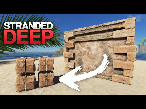 MATERIAL REFUNDING, BETTER SHARKS & BILLBOARDS! Stranded Deep 0.61 Update Overview