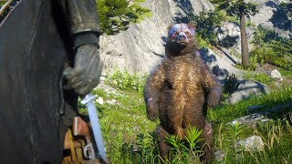 HUNTING THE *LEGENDARY* BEAR! | RED DEAD REDEMPTION 2 OUTLAW LIFE #4