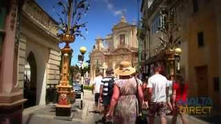 preview picture of video 'Mdina and Rabat, Malta'