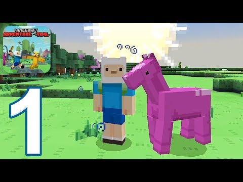 Minecraft PE: Adventure Time Survival – Gameplay Walkthrough Part 1 (iOS, Android)
