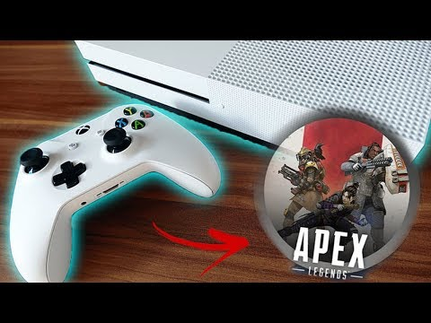 Comprei Xbox One S | JOGUEI APEX LEGENDS