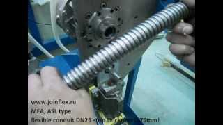 Making flexible conduit DN25 strip 0'76 MFA ASL
