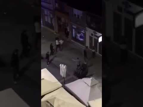 U Aleksincu došlo do grupne tuče, policiji prijavljeno samo da je polomljen izlog kafića