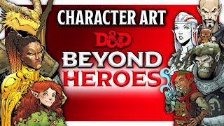 Drawing Character Art For Beyond Heroes - Max Dunbar