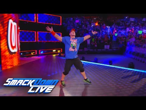 John Cena returns on Fourth of July: SmackDown LIVE, June 13, 2017