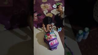 KID & PLAY// Haratay excited when she got Bag and Dress from Julia at Home  2019-April-24