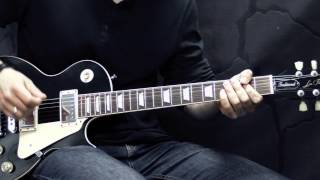 Gary Moore - Cold Day In Hell - Guitar Cover