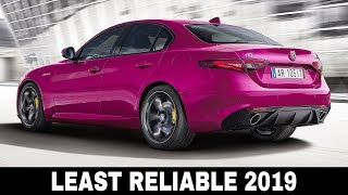 9 Least Reliable Cars and Crossovers of 2019 (Things to Consider Before Buying)