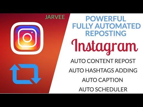 Download Jarvee Instagram Repost Tutorial Step By Step Video 3GP Mp4