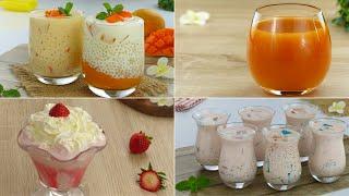 4 Easy Drink Recipes for Ramadan Iftar by Tiffin Box