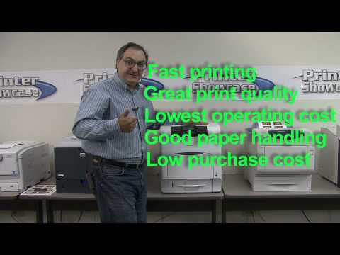 Color Laser Printer Review for the Office
