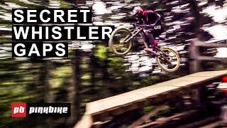 Hitting Secret Gaps in Whistler Bike Park with Local Pros