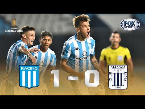 FOI NA RAÇA!!! Melhores momentos de Racing 1 x 0 Alianza Lima pela Libertadores