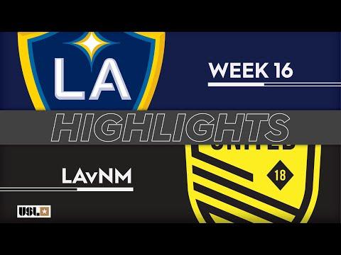 LA Galaxy 2 - New Mexico 1:1. Видеообзор матча 23.06.2019. Видео голов и опасных моментов игры