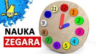 Nauka zegara dla dzieci - Zegar dla dzieci    CzyWieszJak