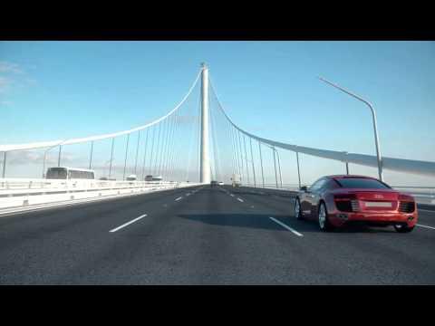 Wyjątkowe połączenie mostowo-tunelowe w Chinach