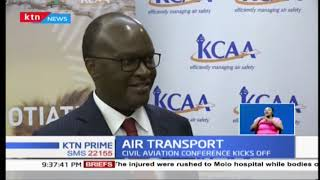 Kenya looking to sign agreements as civil aviation conference kicks off