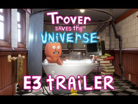 """Trover Saves the Universe"" E3 Announce Trailer thumbnail"