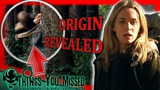 32 Things You Missed In A Quiet Place (2018) + Creature Origin Revealed - Video Youtube