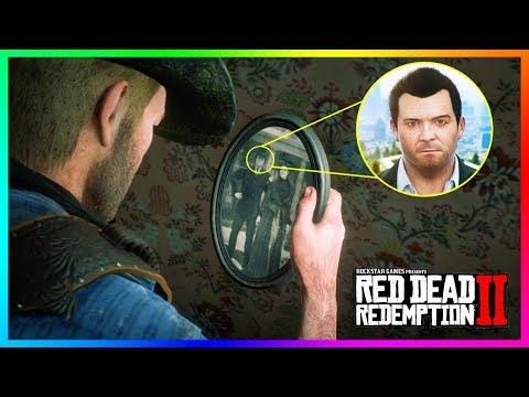 This Character In Red Dead Redemption 2 Is SECRETLY Michael De Santa From GTA 5! (Mystery Solved)