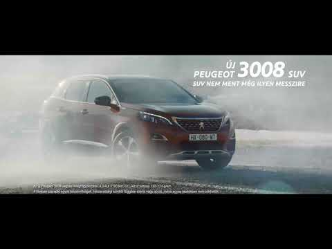 Email campaign for Peugeot 3008 SUV