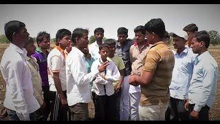 Rajabhau Kadam one of the taluka coordinators with Paani Foundation is famous