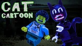 Lego Cartoon Cat Horror Stop Motion Trevor Henderson