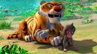 Маугли - Книга Джунглей - Самый большой фанат Маугли –развивающий мультфильм для детей