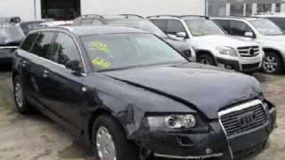 Audi A6 crash accidents