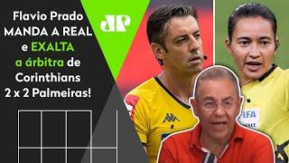 'Isso tem que ser dito': Flavio Prado expulsão de Rodinei e fala tudo após Corinthians x Palmeiras