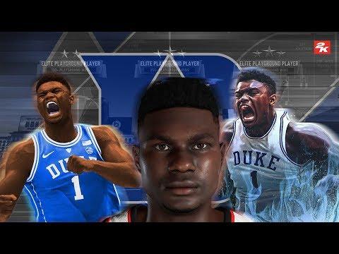 Zion Williamson TAKES OVER THE PARK !! | NBA 2K19