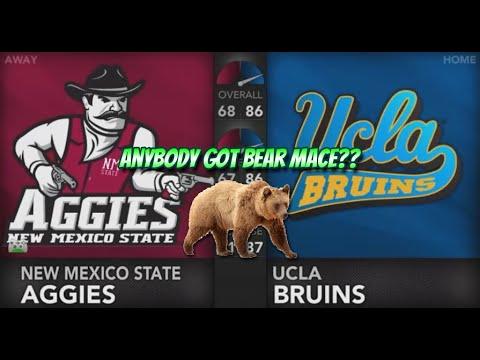 NCAA Football 14 Dynasty New Mexico State @ UCLA Season 1, Record 2-1