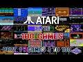 100 Atari Xl xe Games Part 1: Games 1 To 100