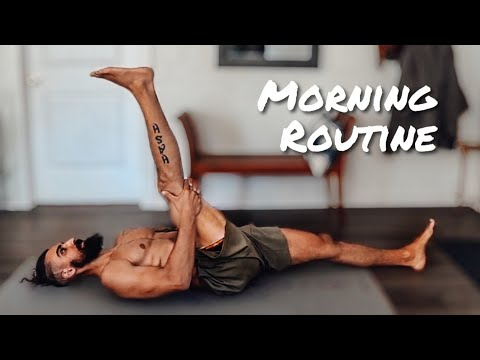 Morning Routine for Beginners (Stretching & Meditation Follow Along)