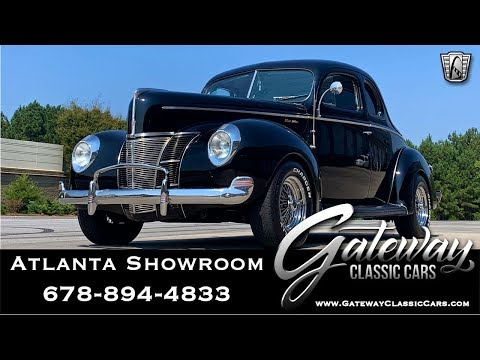 1940 Ford Coupe - Gateway Classic Cars of Atlanta #1213