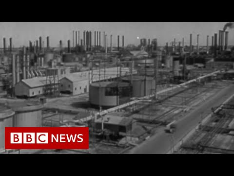 Saudi Aramco's eight decades of history - BBC News