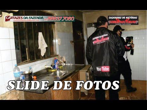 Slide de fotos da investigação Espírito demoníaco