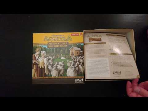 Agricola: All Creatures Big and Small - Whats in the box?
