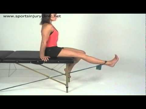 Video Strengthening Exercises for the Rehabilitation of Quad Strains