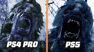 Resident Evil Village Demo: PS4 Pro VS PS5 Side-by-Side Comparison by GameSpot