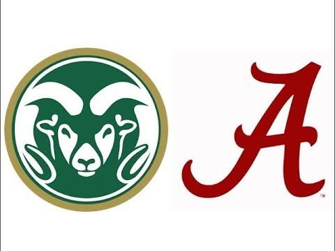 2017 Colorado State at #1 Alabama (Highlights)