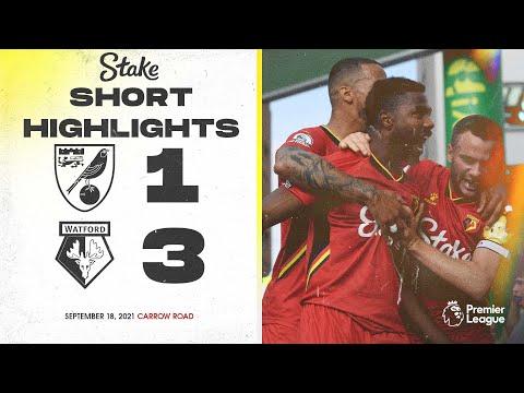 FC Norwich City 1-3 FC Watford