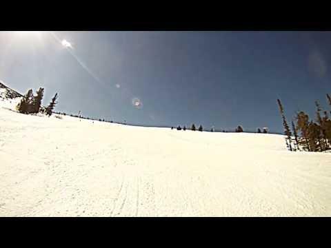 Видео: Видео горнолыжного курорта Гладенькая, Гора в Хакасия