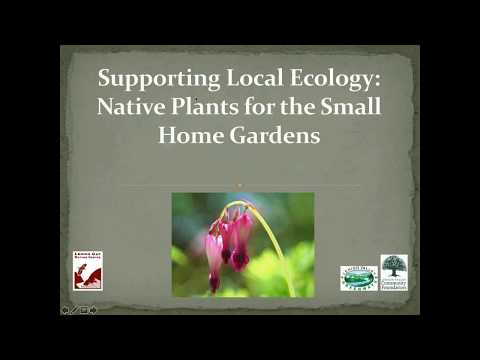 Supporting Local Ecology   Native Plants for Small Home Gardens   Pilot Demonstration  Projects 10 9