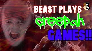 GET OUTA MY FACE!|Beast Plays Creepy Mobile Games!