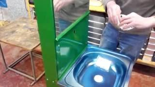 Сборка рукомойника Мойдодыр видео